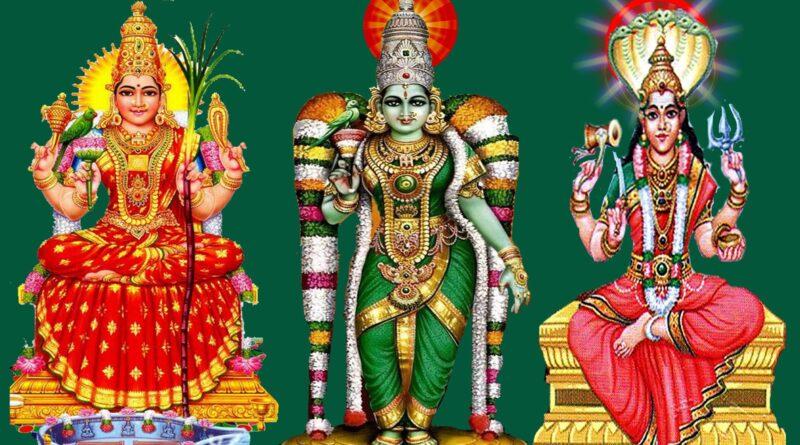 காஞ்சி காமாட்சி அன்னை (Kanchi Kamadkshi)